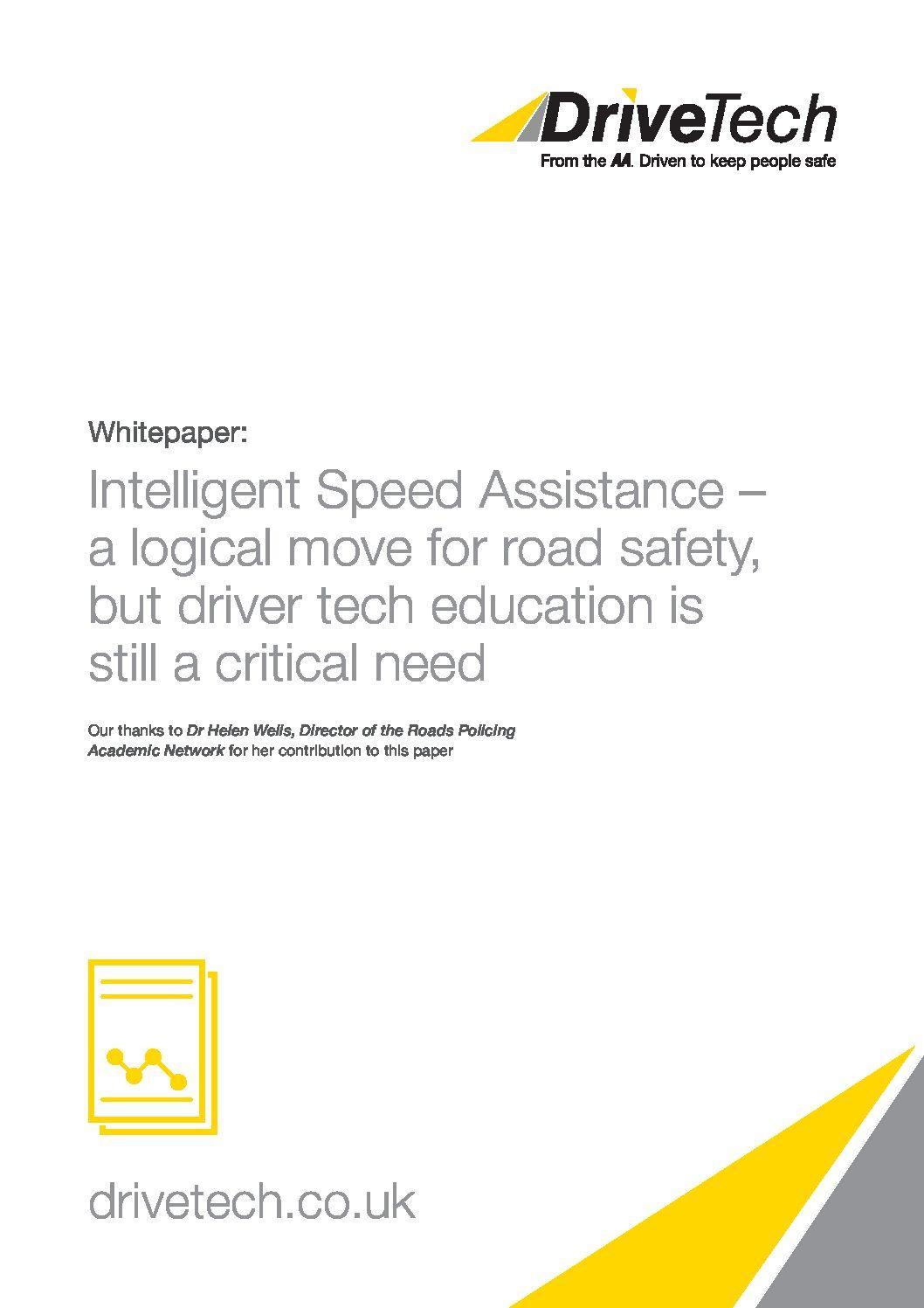 Whitepaper – Intelligent Speed Assistance