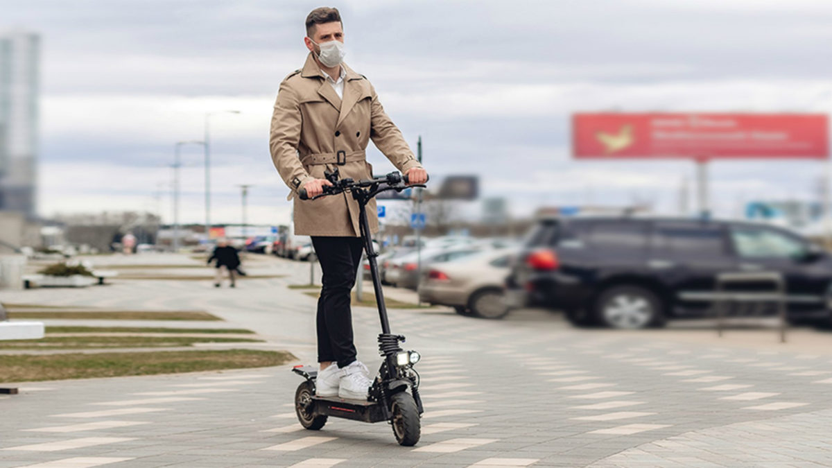 electric scooters come to the UK in public rental trials