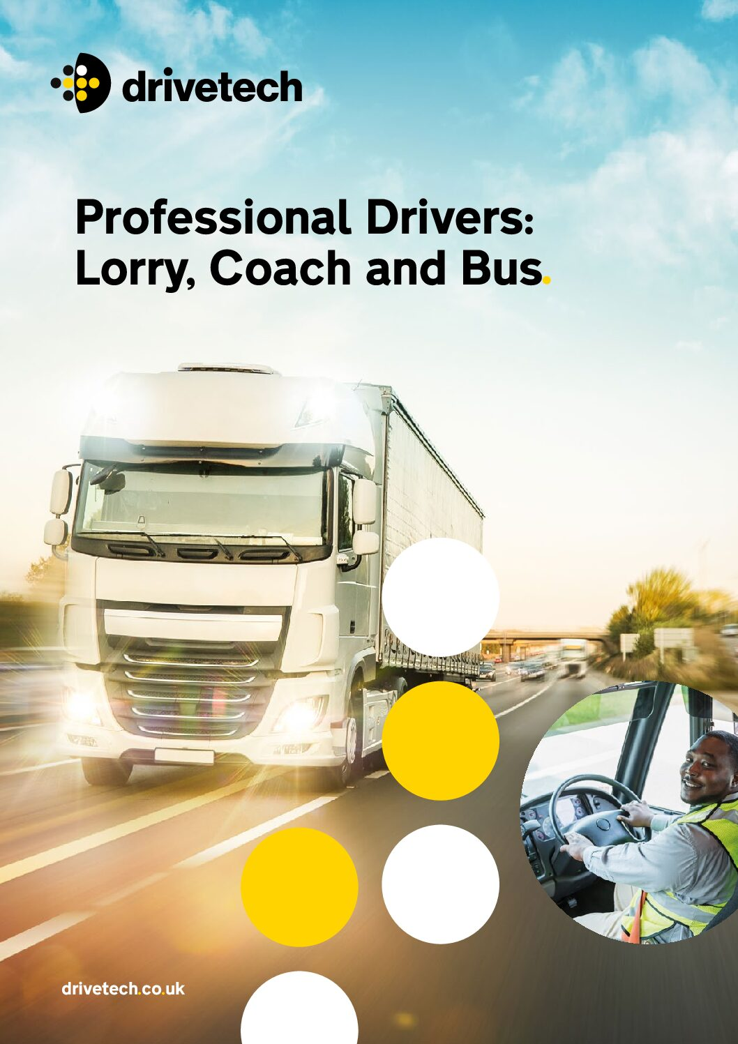 Brochure – Professional Drivers: Lorry, Coach & Bus