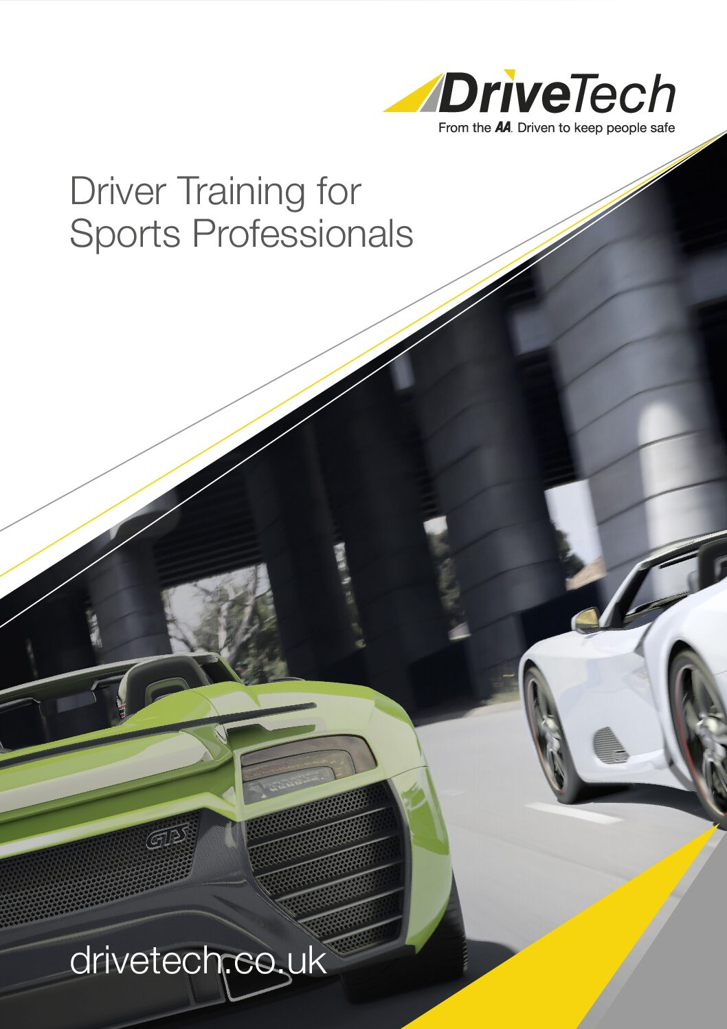 Brochure – Driver Training for Sports Professionals