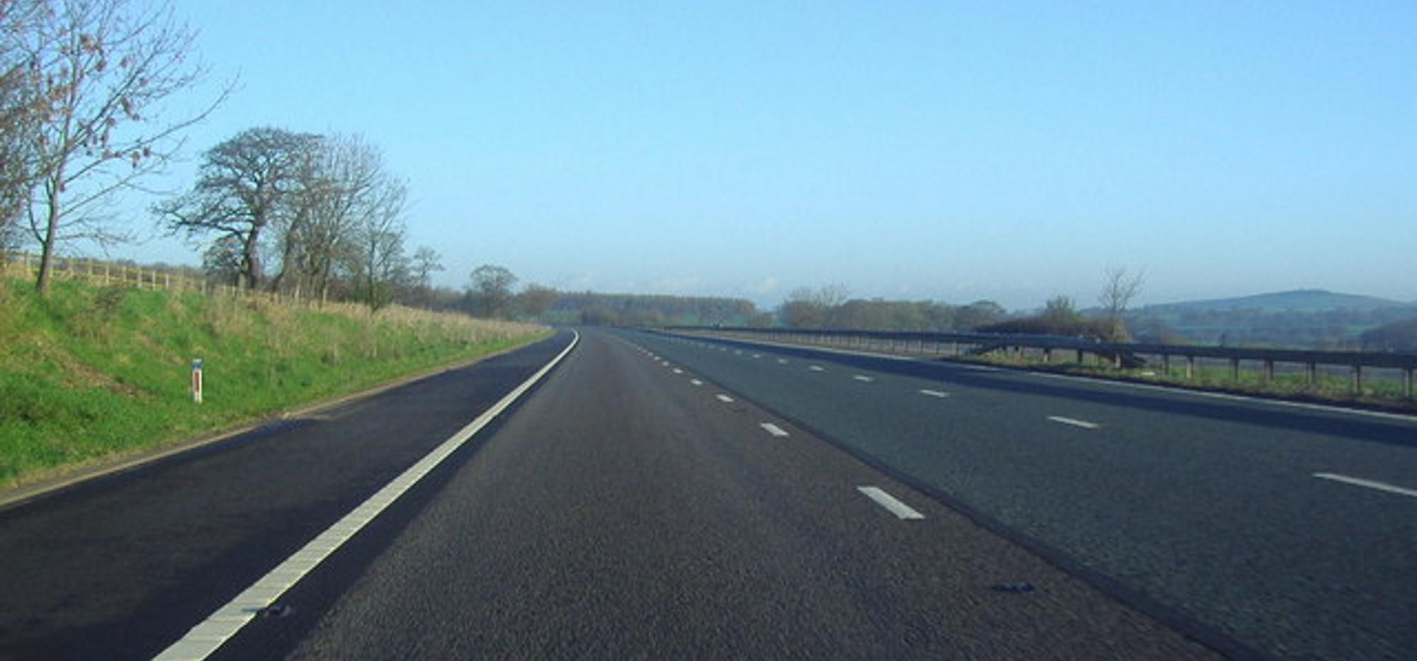Empty Open Road