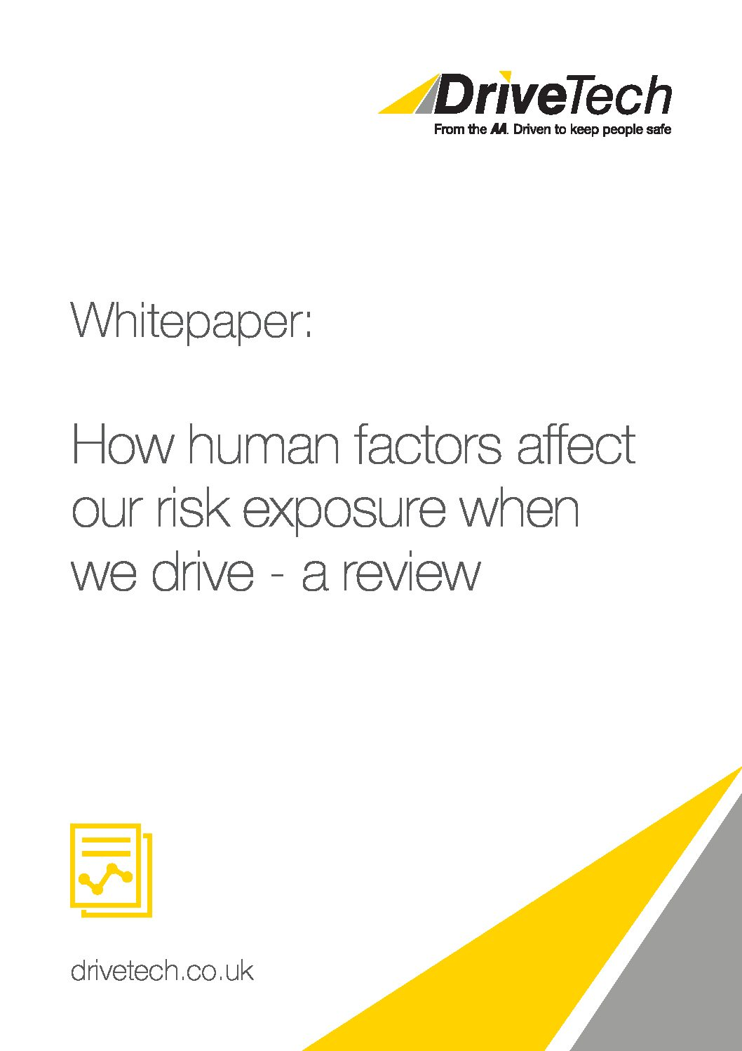 Whitepaper – How Human Factors Affect Risk Exposure When We Drive