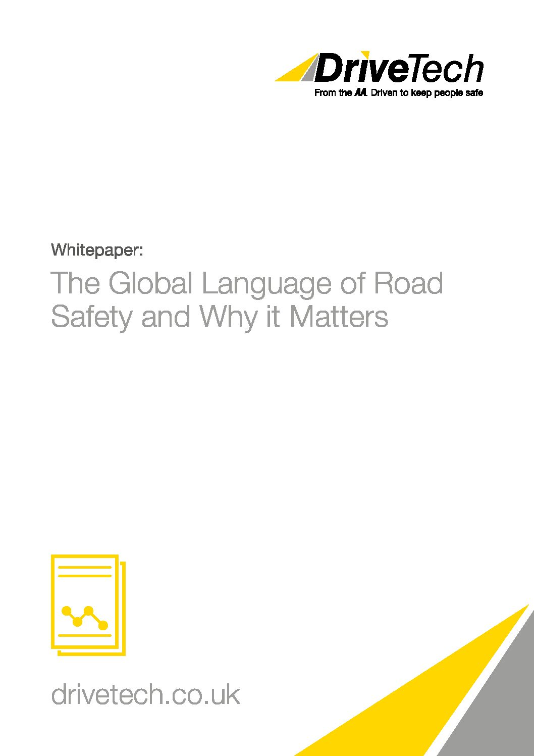 Whitepaper – The Global Language of Road Safety and Why it Matters